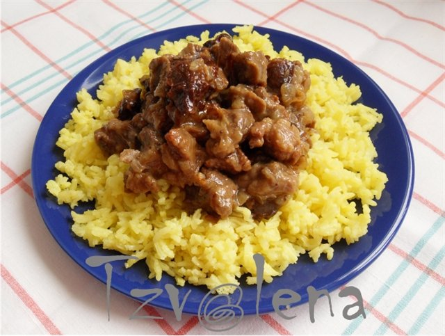 блюда - Мясо как оно есть, тушеное, вяленое, копченое. Блюда с мясом - Страница 9 8622d7b28244