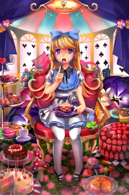 Арты на тему: 'Alice in Wonderland' 74af089f013b