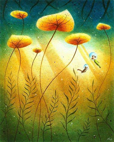 Рисунки детства от May Ann Licudine 23672f308d5b