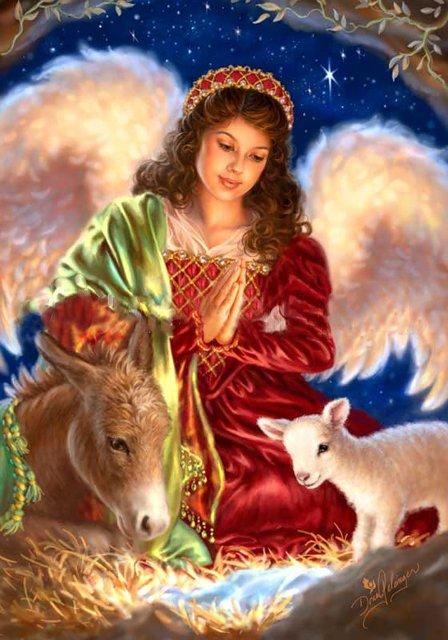 Рождественские ангелы от Dona Gelsinger Cd4e150d74a5