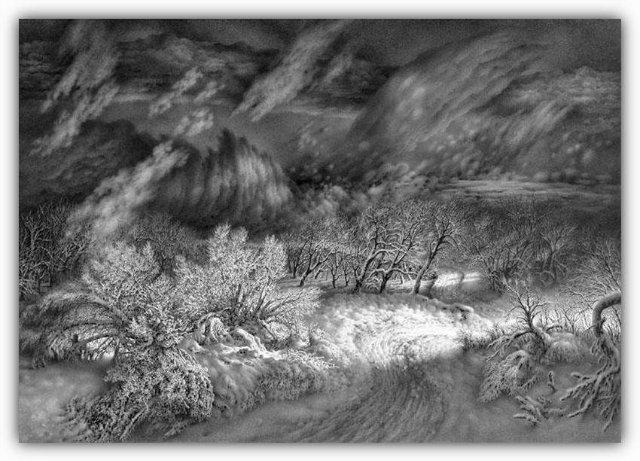 Снег, согревающий душу (Доленджашвили Г.) Efe50f929b92
