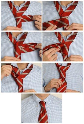 Научимся завязывать мужу галстук 1d9c11210530