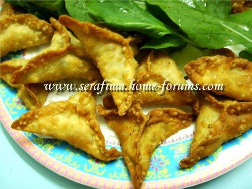 Самбуса домашняя (самбусик). Арабская кухня Sambusa. Sambosa 6c72eabe13e0