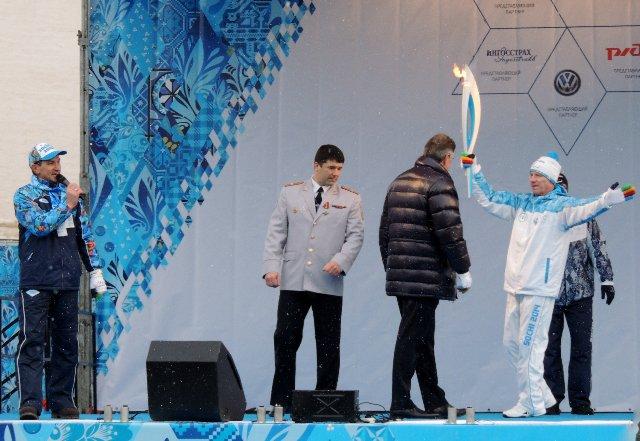 "Эстафета Паралимпийского огня ""Сочи 2014"" в г. Ярославле C7ff646ce94f"