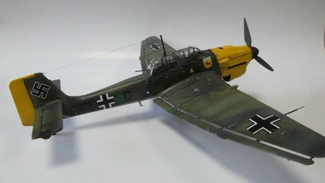 Ju-87 B-2 «Stuka», 1/48, (Tamiya 37008). 898ae1291160