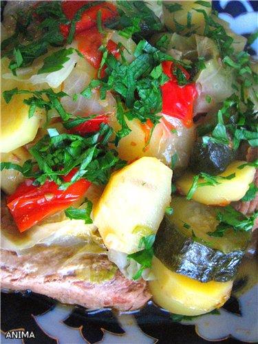 Блюда с овощами, фаршированные овощи  и др. E689cb4a6f6d