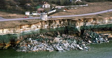 Обвал глинта на полуострове Пакри в Марте 2008 года. (Видео и фото) 392b85e5d26d