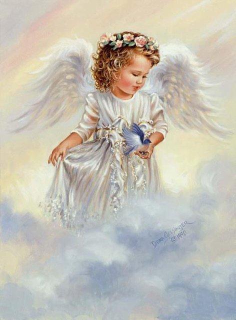 Рождественские ангелы от Dona Gelsinger 4bd8da535897
