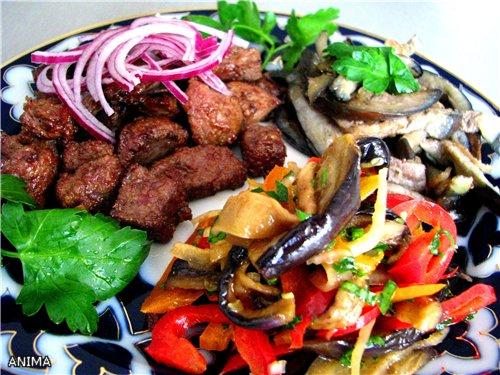 блюда - Мясо как оно есть, тушеное, вяленое, копченое. Блюда с мясом 285baf0f4de0