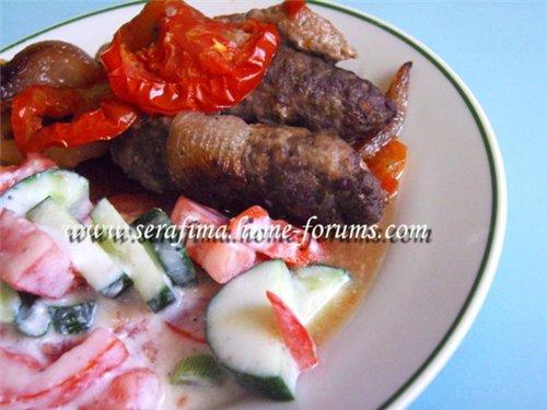 Куфта с овощами. Арабская кухня F3d8adef9873