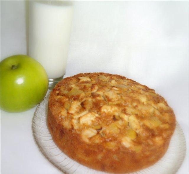 Шарлотка с яблоками - Страница 2 4095e6cfb6c1