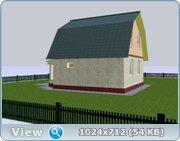 Проект часного дома с мансардой  7efa0230d079