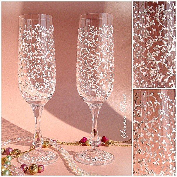 Красивые бокалы к новогоднему столу 7d5793d75090