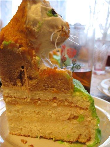 Торт на белом шоколаде 15134f1d7348