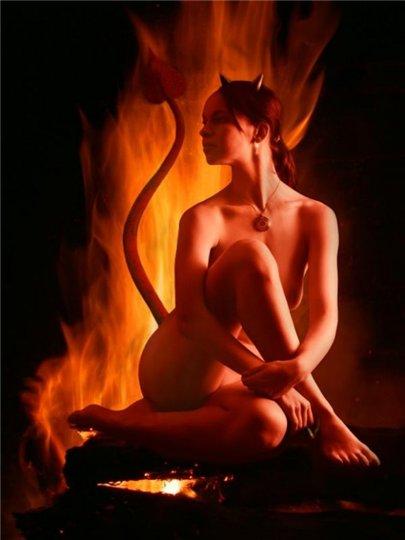 гадалка - культ Сатаны. Сатана. Дьявол. Люцифер ( фото, видео, демотиваторы, картинки) - Страница 3 D348abd6626f