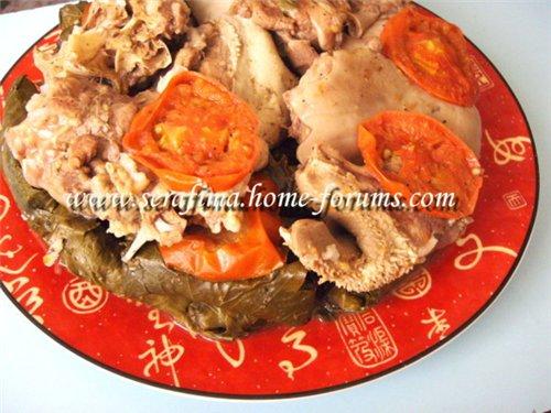 Уварак даували махши. Фаршированные виноградные листья. Араб.кухня F88346869e91