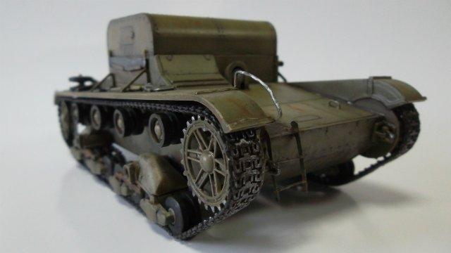 Т-26Т артиллерийский тягач, 1/35, (RPM 35072). Fc0ec345a07c