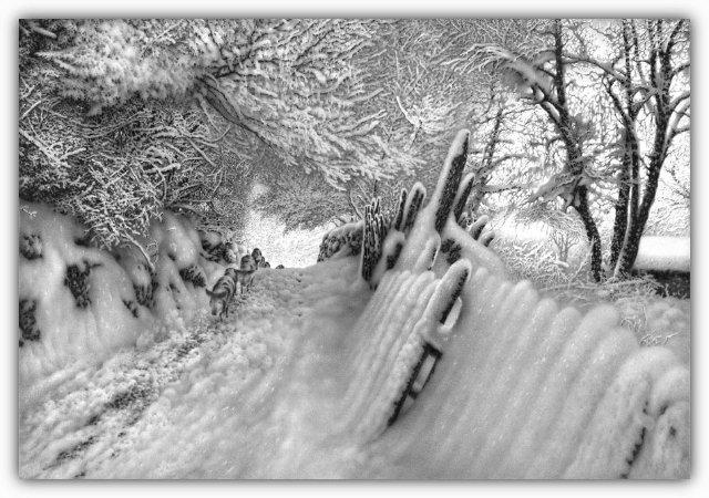 Снег, согревающий душу (Доленджашвили Г.) Dfa675dd2486