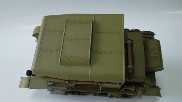 Тягач Т-26 / трофейный польский С7Р, 1/35, (Mirage hobby 35903). F42d2b3852e6