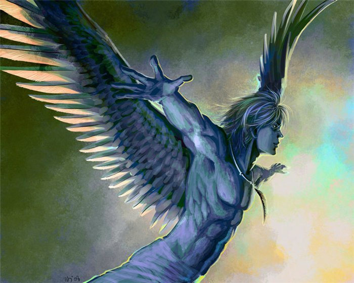 Арты на тему : Ангелы 17723bccee7d