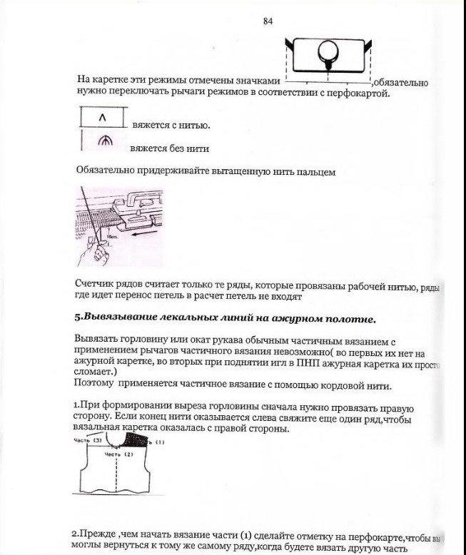 Начальный курс по обучению вязания на вязальной машине SILVER REED   - Страница 5 8ffb9f923ca9