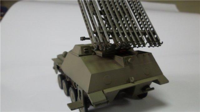 Катюша БМ-8-24 на Т-40, 1/35, (Старт) 92559c67a606
