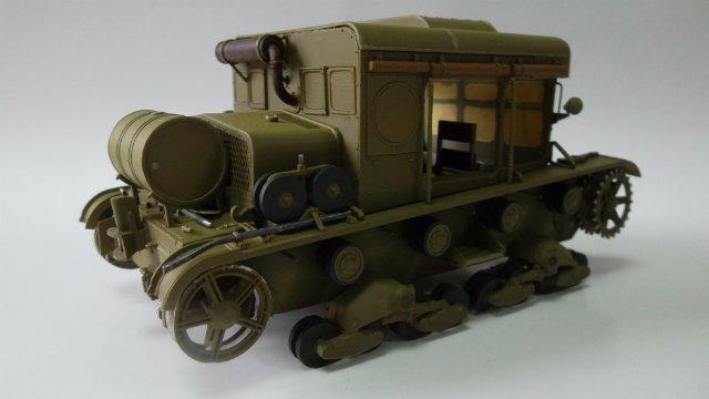Тягач Т-26 / трофейный польский С7Р, 1/35, (Mirage hobby 35903). F266bf019790