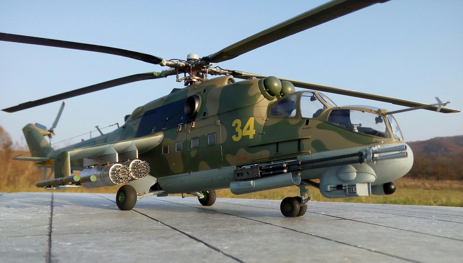Ми-24П. Trumpeter. 1/35 C8396cb02d2c