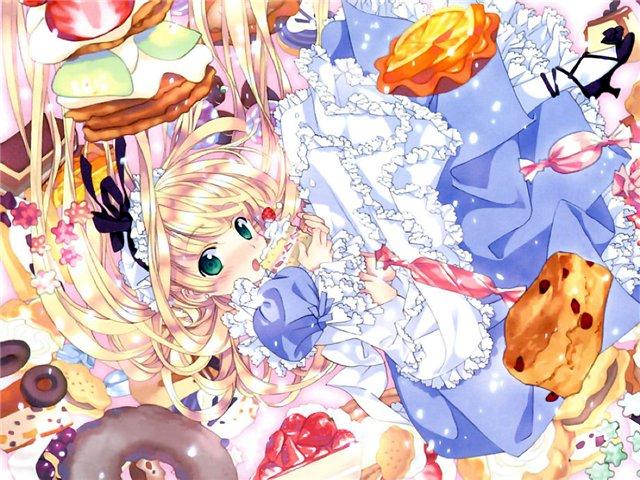 Арты на тему: 'Alice in Wonderland' D4efe98387ec