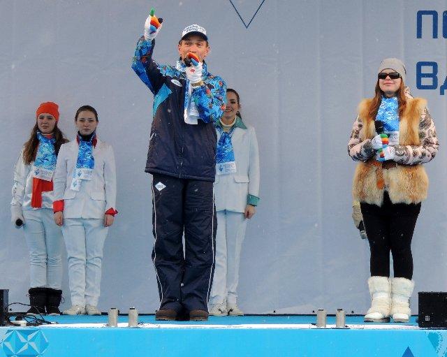 "Эстафета Паралимпийского огня ""Сочи 2014"" в г. Ярославле 30a1cd521bc1"