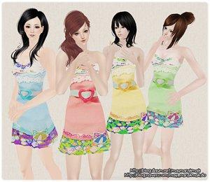 Повседневная одежда (платья, туники, комплекты с юбками) - Страница 3 1e22b0d65c5d