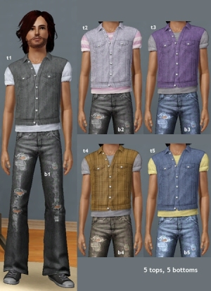 Повседневная одежда (комплекты с брюками, шортами)   522909b1f13e