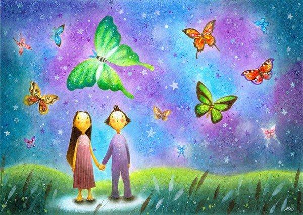 Рисунки детства от May Ann Licudine D382a9598161