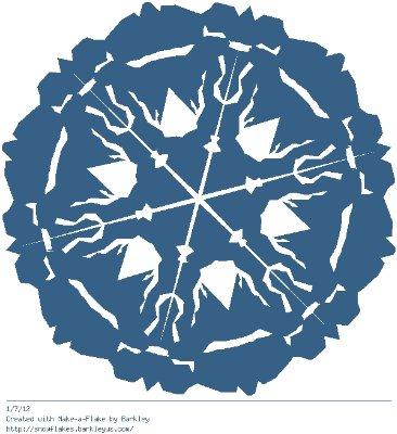 Зимнее рукоделие - вырезаем снежинки! - Страница 10 Cb96614632d3
