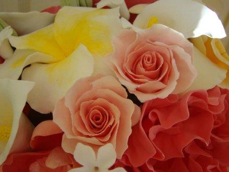 Цветы ручной работы из полимерной глины Be27cf15ec01