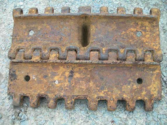 Трак от гусеницы танка Panzerkampfwagen IV 81dc05ea7ea2