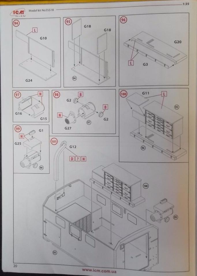 Обзор ЗиЛ-131 Аварийная служба / КУНГ, 1/35 (ICM 35518).  3f8de4a1feb3