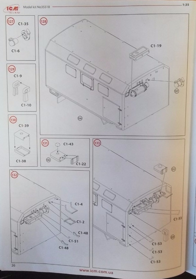 Обзор ЗиЛ-131 Аварийная служба / КУНГ, 1/35 (ICM 35518).  78e38fa21895