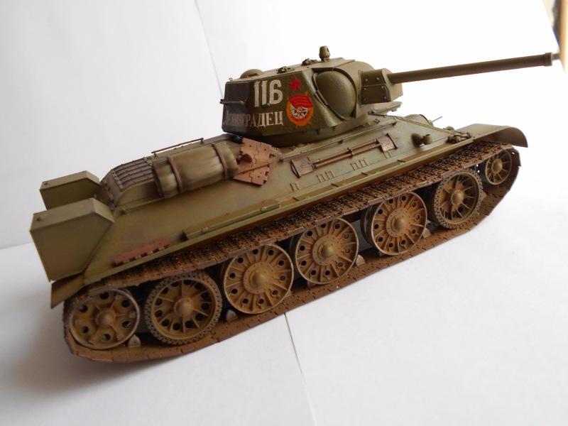 Т-34/76 выпуск начала 1943г 1/35 (Моделист №303529) - Страница 2 2eb67bdc24a9