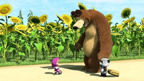 Маша и медведь - Страница 2 0f6fb4430de3