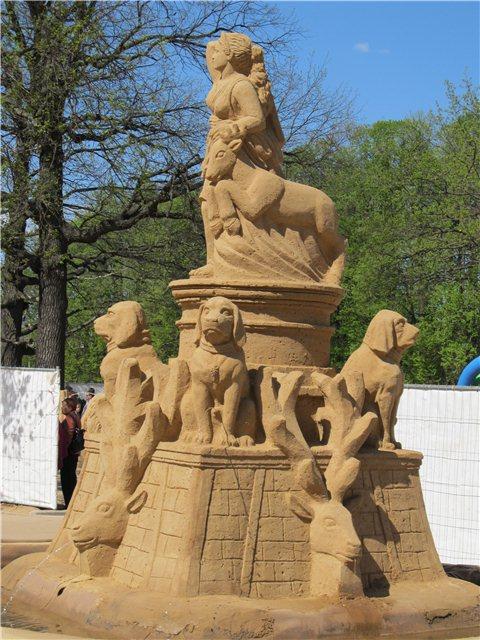 """Международный фестиваль песчаной скульптуры «Знаменитые фонтаны мира"""" 05abead440f0"""