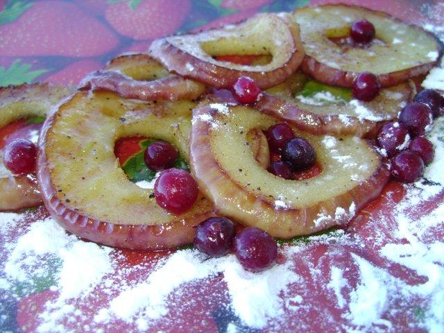 Жареные яблоки с кислинкой 23fe8d203c16