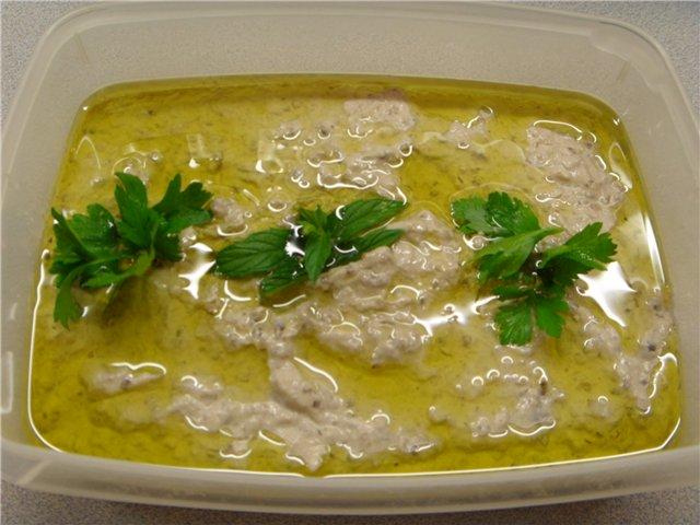 Мтаббаль. Дип из печеного баклажана. Арабская кухня - Страница 2 475d7c1ca84d