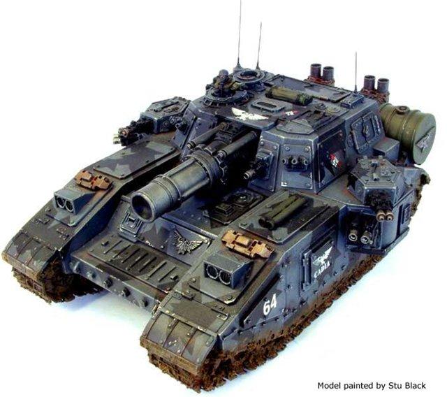 Танк по мотивам Warhammer - [готово] 01707f1e132b