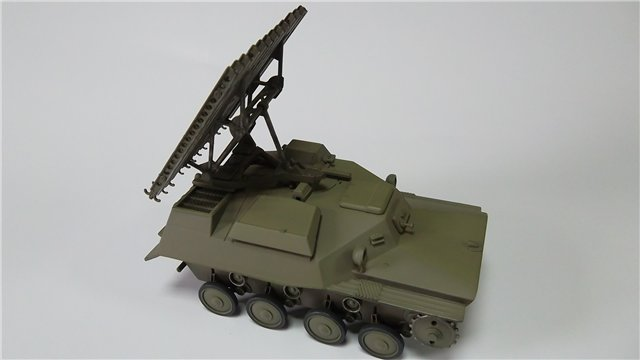Катюша БМ-8-24 на Т-40, 1/35, (Старт) 561e56b20838