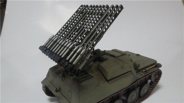 Катюша БМ-8-24 на Т-40, 1/35, (Старт) 9be22128eeba