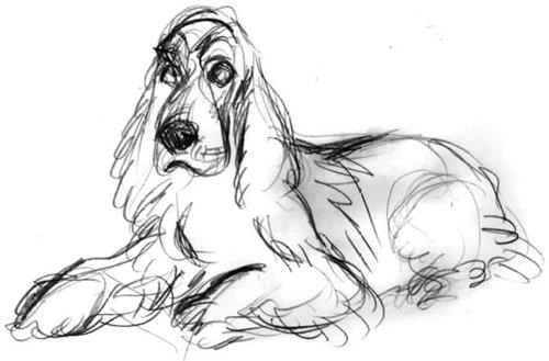 Рисую собак по фото - Страница 6 0a12bebfe387