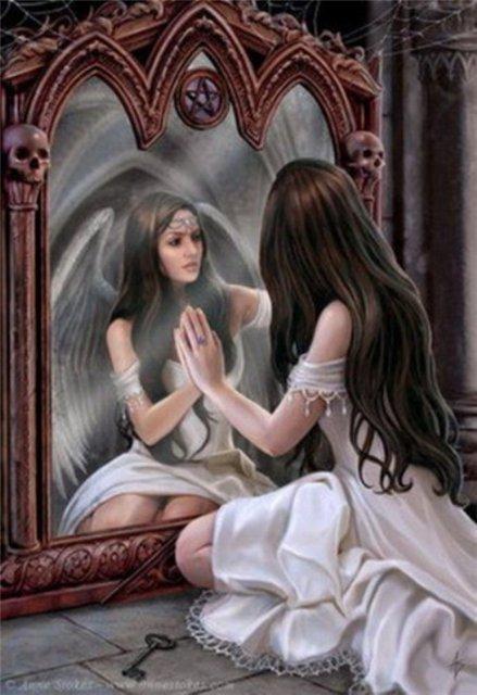 Магическое стекло - зеркало. D220e15d5f8d