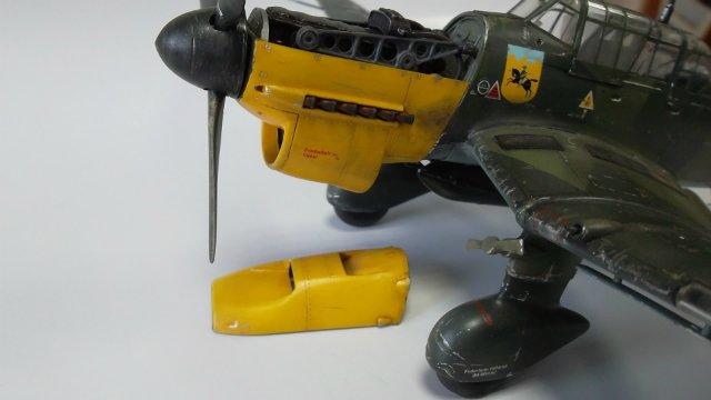 Ju-87 B-2 «Stuka», 1/48, (Tamiya 37008). 50d635edcdc8
