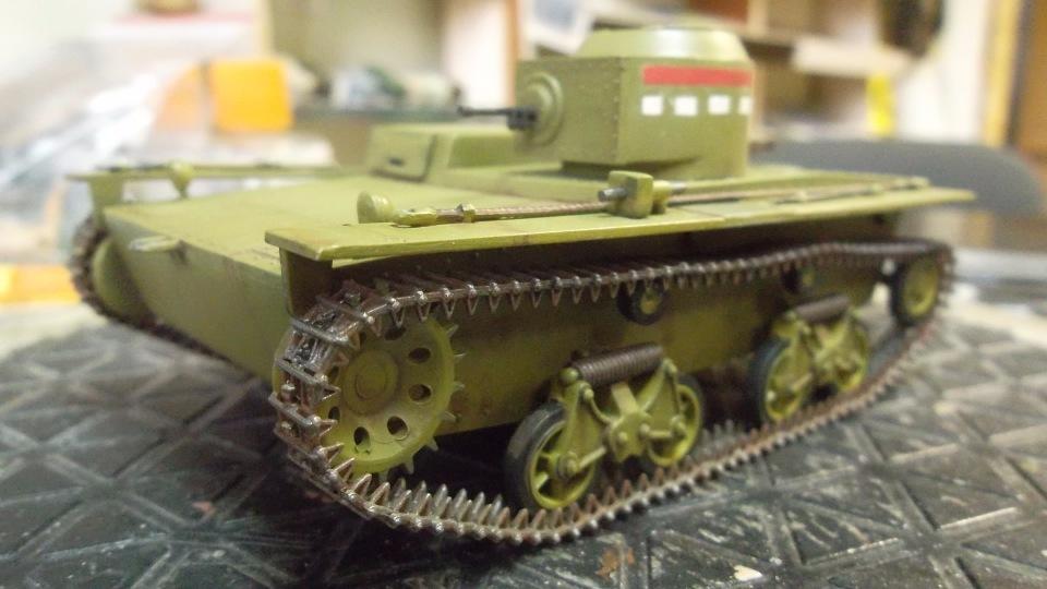 Т-38 малый плавающий танк, 1/35, (Восточный экспресс 35002 / MSD 3522 / AER Moldova). E79613b607c6